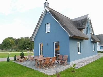 Lisbeth`s Reet<br>exklusives Strand-Ferienhaus mit Kamin