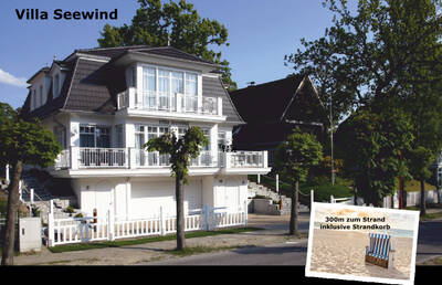 Villa Seewind<br>Binz Strandnah